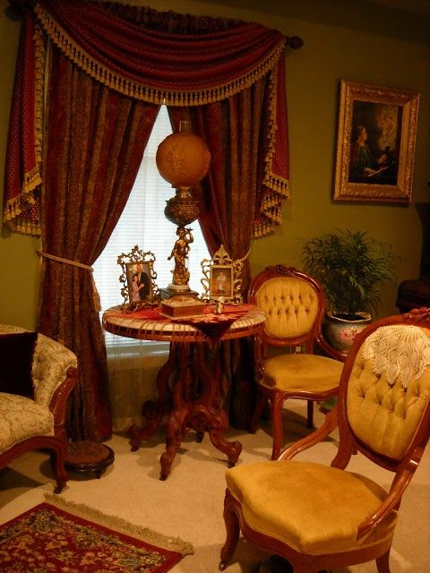 victorian parlor | Victorian parlor | Decorating-Victorian style Decorating