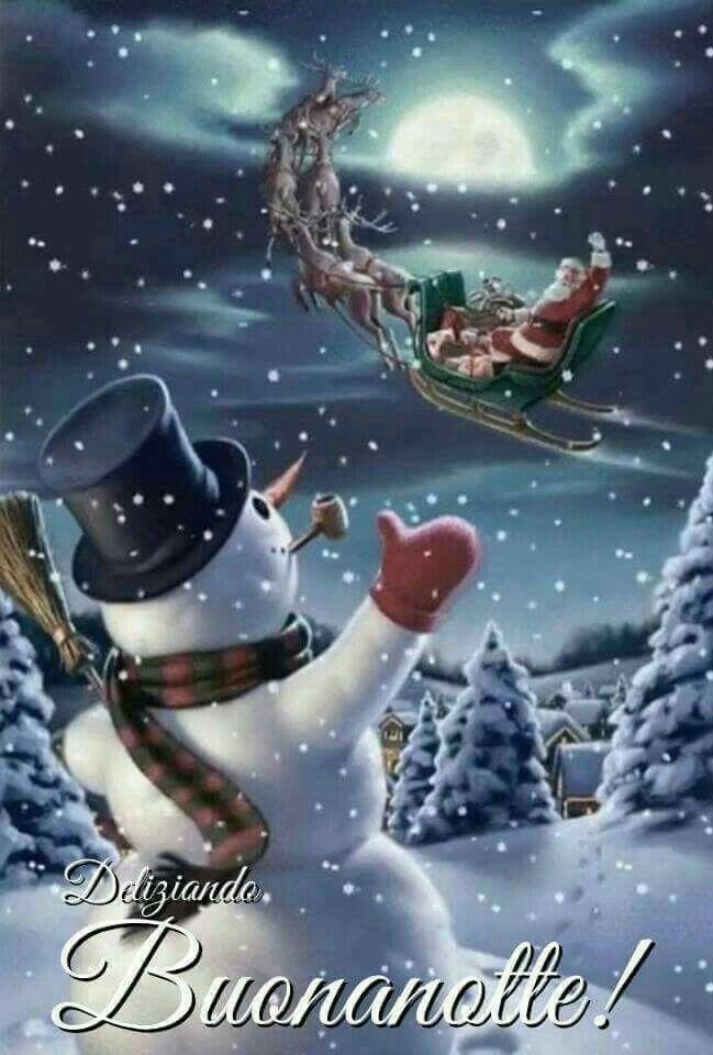 Immagini Buonanotte Natalizie.Buonanotte Buona Notte Idee Di Natale Natale E Immagini