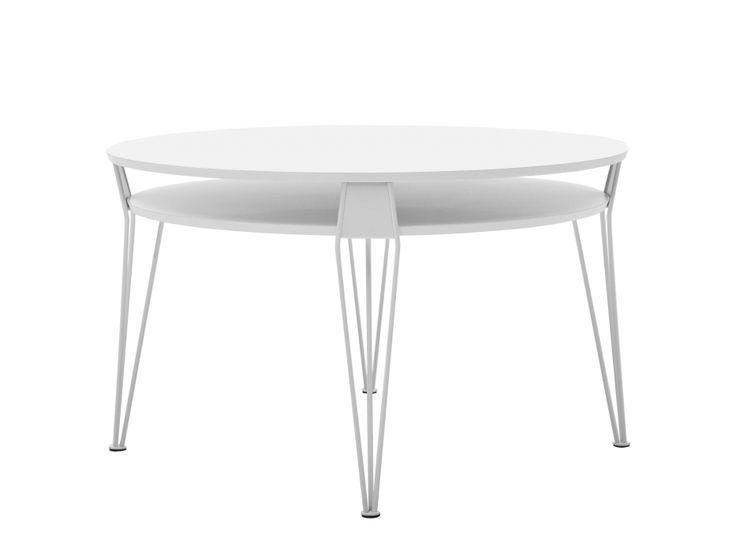 ESTER Soffbord 88 Vit i gruppen Inomhus / Bord / Soffbord hos Furniturebox (100-13-79305)