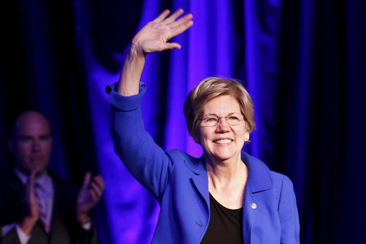 """Elizabeth Warren Endorses Hillary Clinton: Warren said she's ready to help Clinton become the next president """"and to make sure that Donald Trump never gets any place close to the White House,"""""""