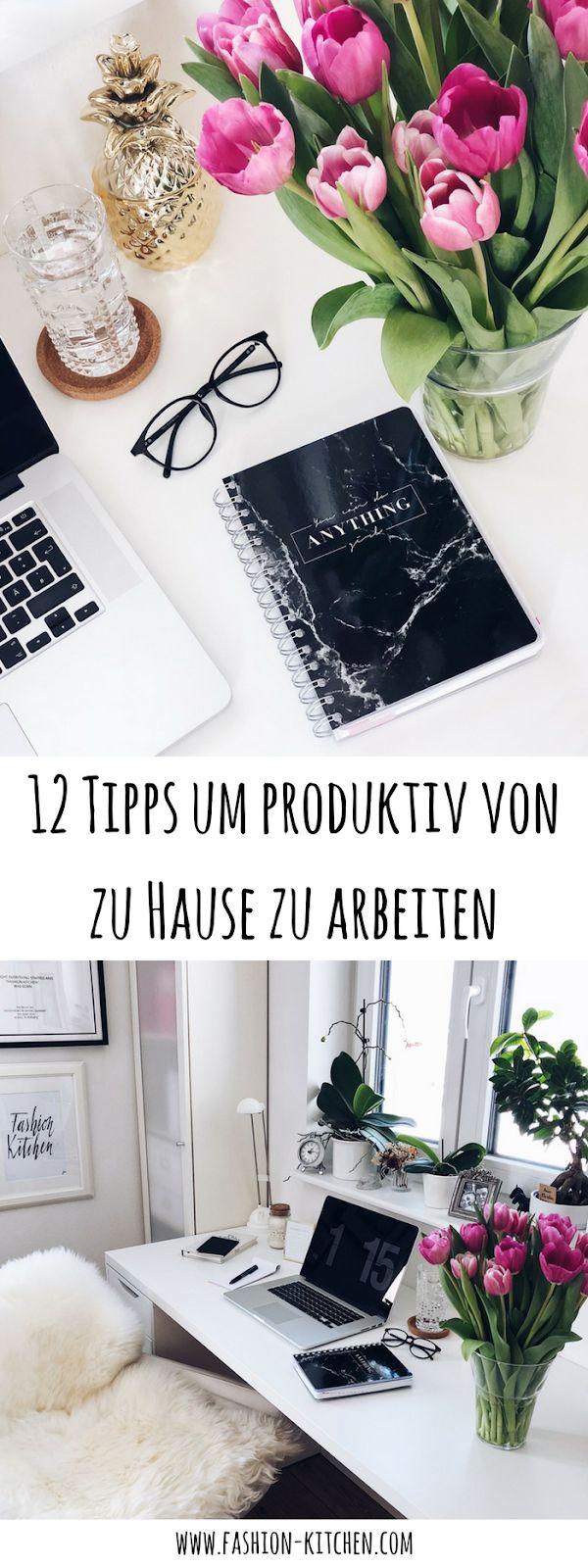 12 Tipps um produktiv von zu Hause zu arbeiten – Pinterest Deutschland, Österreich & Schweiz