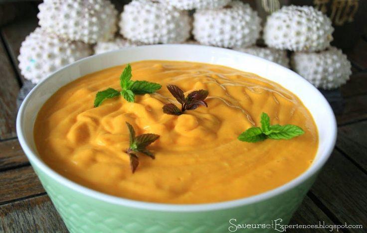 Mousse à la Mangue Fraîche |      Une mousse savoureuse pour un dessert frais et léger!