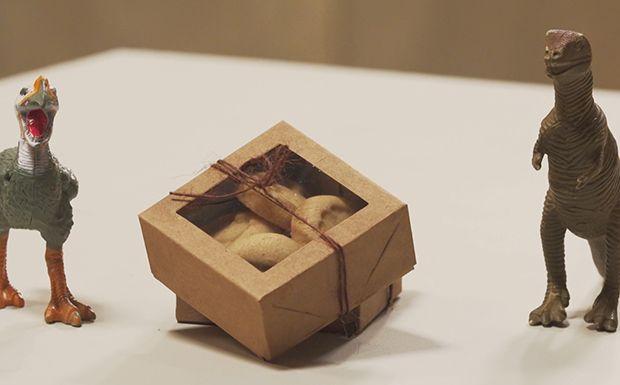 Biscoito amanteigado de canela - Com pegadas de dinossauro, receita faz sucesso com a criançada