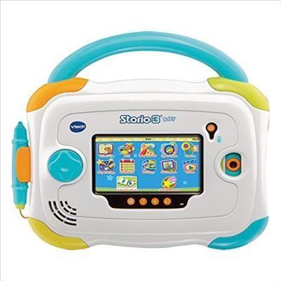 Tablette Storio 3 avec Coque de Vtech Baby Réf : 147905 moins cher en ligne. Mémoire : 2 Go ,  Ecran : Tactil 4.3' ,  USB : OUI ,  Age : Dès 18 mois  Comparez son prix chez 5 vendeurs en ligne .