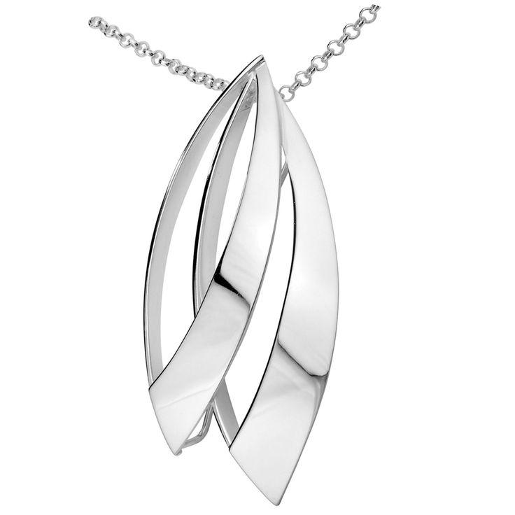 Aarikka - Silver jewelry : Tuuli necklace. Designer: Kaija Aarikka (2014)