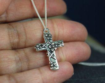 Kruis de religieuze giften van juwelen, Zilveren Kruis ketting,