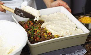Easy Shepherd's Pie - Easy dinner and family eats their veggies.