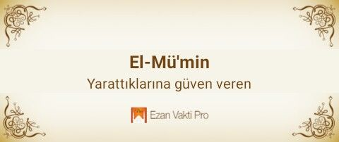 El-Mü'min