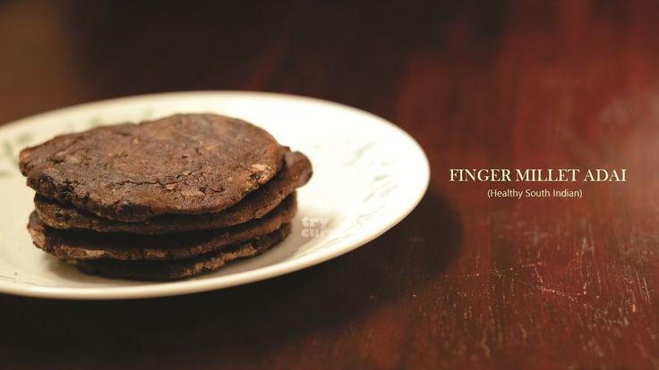 Ragi Adai   Finger Millet Adai   Kezhvaragu Adai Recipe Try Curry