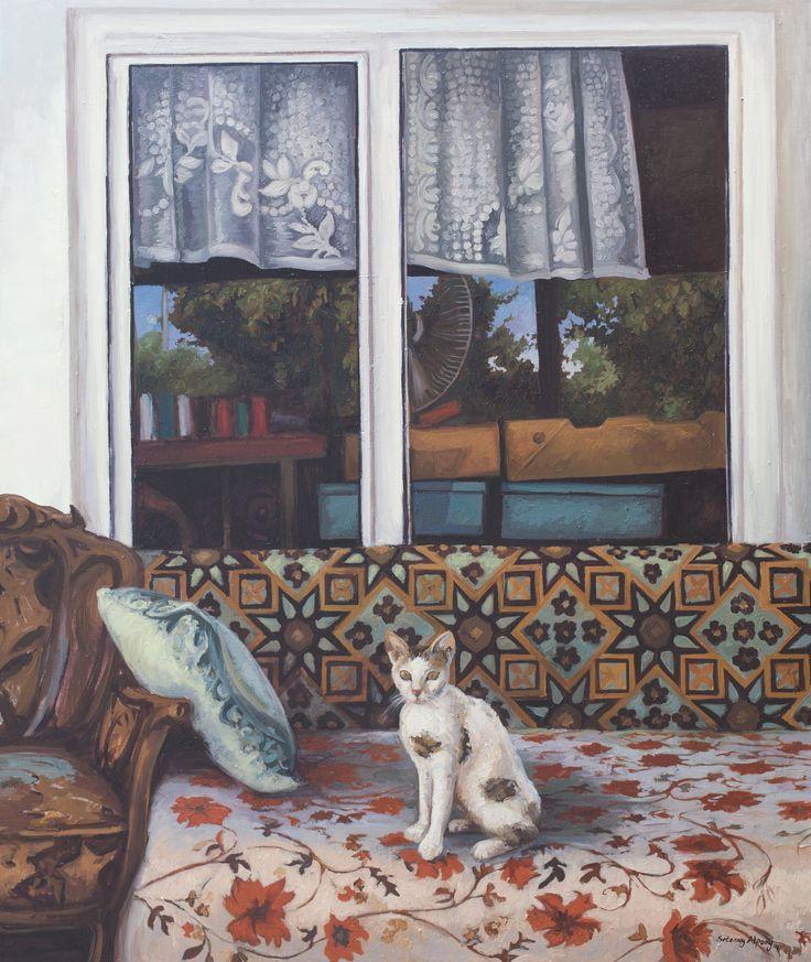 2014, 130 x 110 cm. Tuval üzerine yağlıboya / Oil on canvas