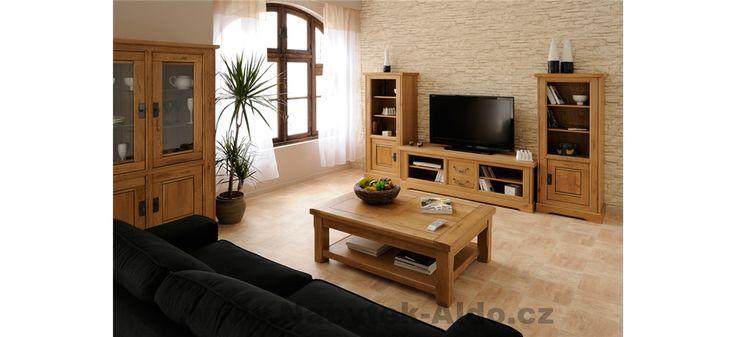 Praktický rustikální nábytek