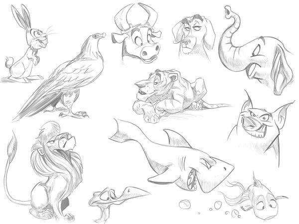 Best 25+ Drawing cartoon animals ideas on Pinterest | Choses ...