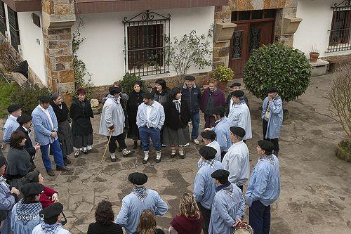 Santa Agueda. Coros. Jose Felix Diaz de Tuesta