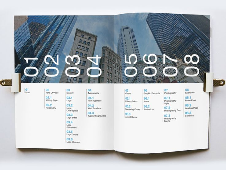 Brand Style Guide: Table of Contents by Brittany Loar …
