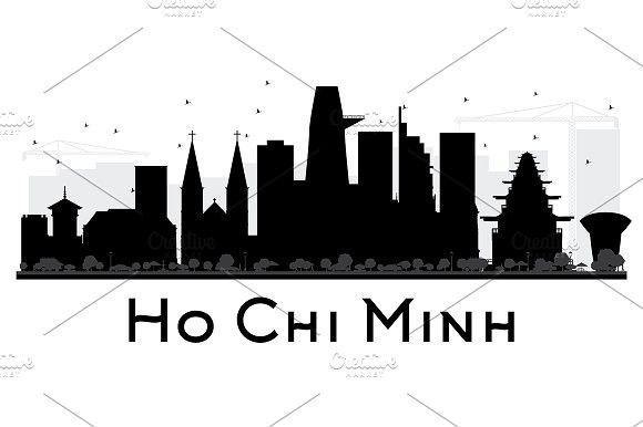 Ho Chi Minh City Skyline Silhouette City Skyline Silhouette Skyline Silhouette City Skyline