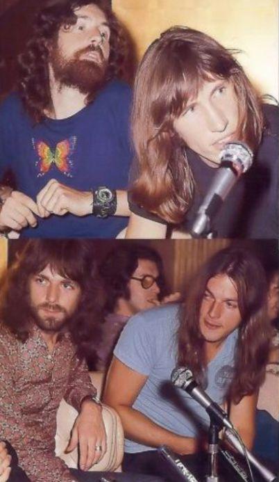 Pink Floyd members.