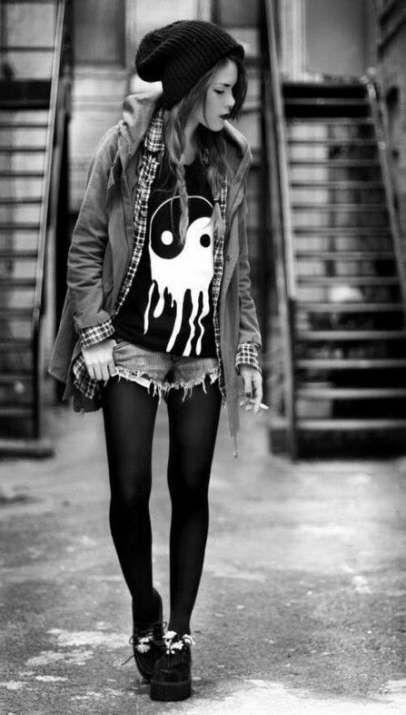 Fashion edgy grunge clothes 70 ideas