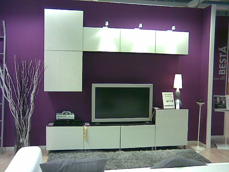 34 best meuble de tv images on pinterest ikea hacks for Meuble mural tv ikea