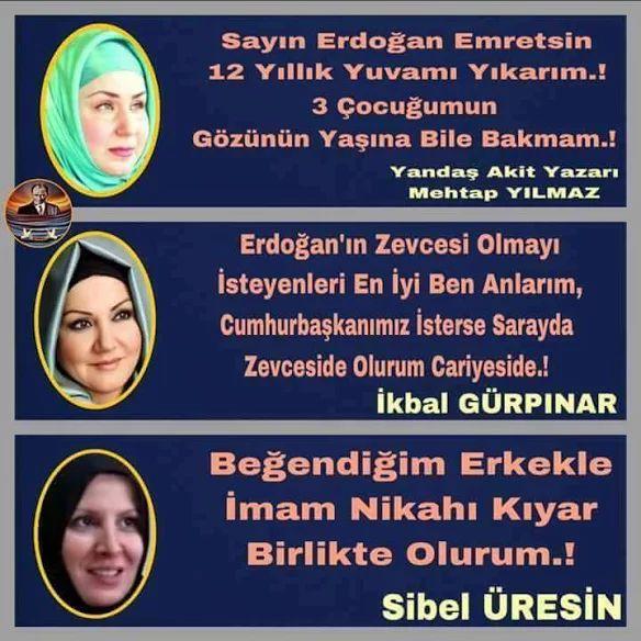 TÜRK kadınlarını alçaltan bu 3 orospu ve bunun gibileridir Allah topunuzun belasını versin utanç  duyuyorum hemcinsim olduğunuz dan ötürü...!!!