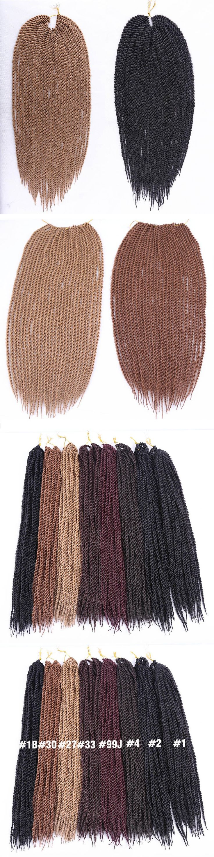 """Amir Hair 18-22"""" Synthetic Havana Twist Braiding Hair with Long Black and Blonde Crochet hair extensions  Free gift"""