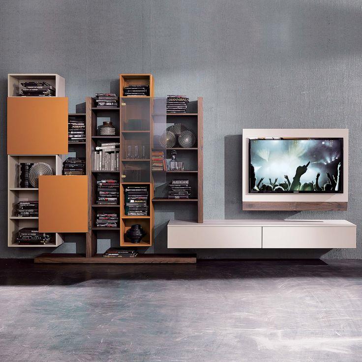 meuble tv orientable rack diotti com id e d co in 2019. Black Bedroom Furniture Sets. Home Design Ideas