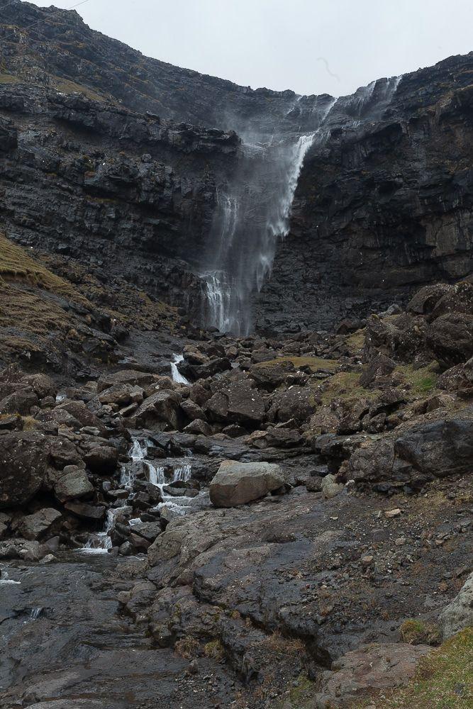 Fóssa - der höchste Wasserfall auf den Färöer Inseln