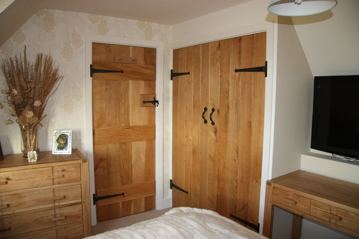 Barn Doors - 100% Solid Oak.   #BarnDoor #CottageDoor  http://www.ukoakdoors.co.uk/internal-doors/internal-doors-by-style/barn-doors.html