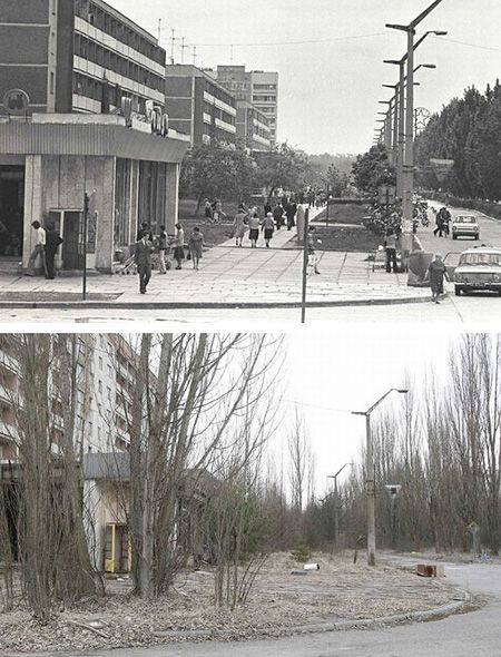 Chernobyl Pictures Before and After | ... it in hdr here ...