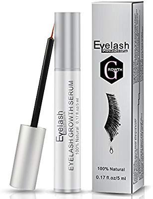 ddd87345e77 Eyelash Growth Serum, Herwiss Natural Eyebrow Enhancer Serum Product, Brow  & Lash Enhancing Formula for Longer, Thicker Eyelashes and Fuller Eyebrows  - 5ML, ...