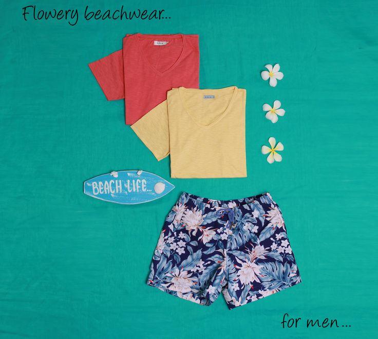 #flowery #beachwear #beachlife #tropical