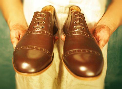 Miles & Louie Coltrane oxford shoes