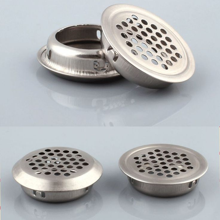 Steel Circular Furniture Cabinet Air Vent Grille Small Cover ...