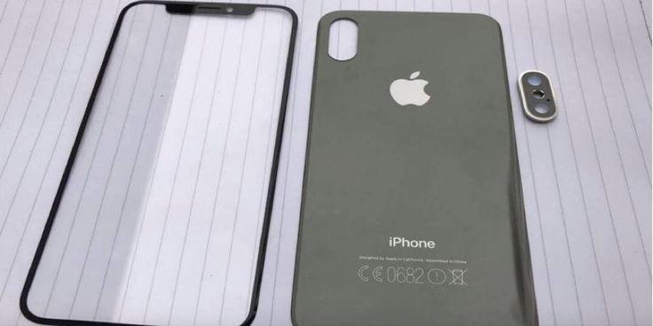 iPhone 8 nueva filtración de componentes