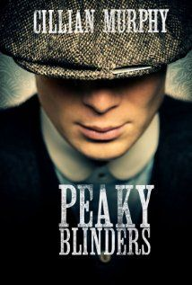 Peaky Blinders on Netflix! A gangster family epic set in 1919 Birmingham, England and centered on a gang who sew razor blades in the peaks of their caps, and their fierce boss Tommy Shelby, who means to move up in the world.