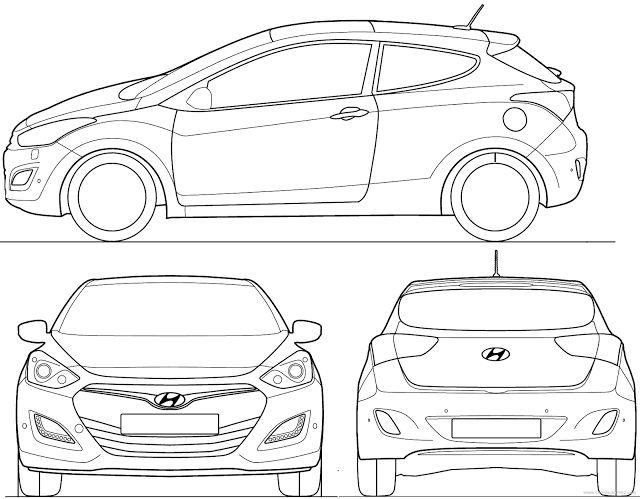Download Car Blueprints With Measurements