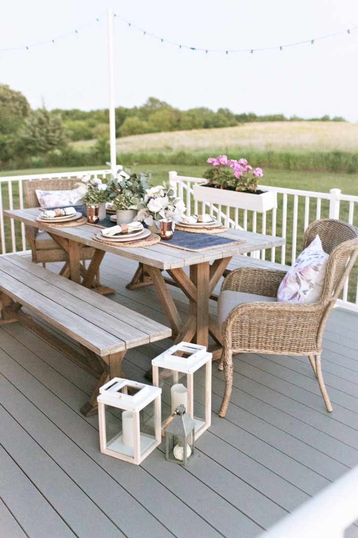 Summer Outdoor Space Summer Home Love In 2020 Patio Dining Furniture Outdoor Living Outdoor Dining Furniture