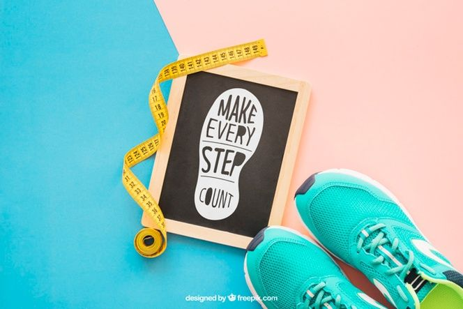 Download Download Fitness Mockup With Slate And Shoes For Free Mockup Psd Free Psd