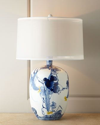 BLUE+ASIAN+GARDENS+LAMP+31.5+by+John-Richard+Collection+at+Neiman+Marcus.