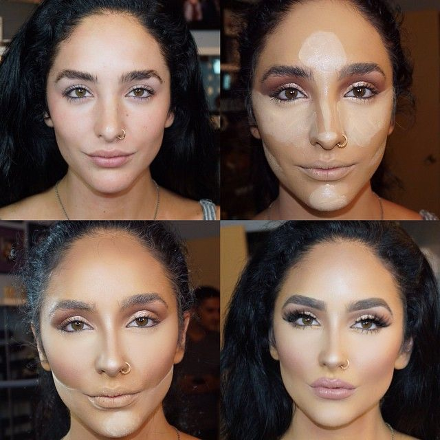 Yes she's perfect before !!! I know she looks incredible without makeup! BUT we wanted glam and that's exactly what we gave her ! @ash_kholm @ash_kholm @ash_kholm  Tomorrow's seminar look at the amazing @brian_champagne salon in Houston ! by brittanybearmakeup