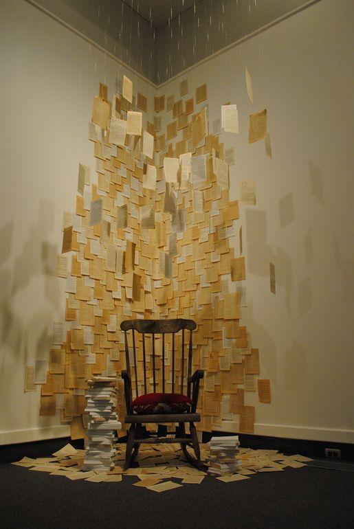 "Saatchi Online Artist: marzia ransom; Mixed Media, 2012, Installation ""my comfort zone"""