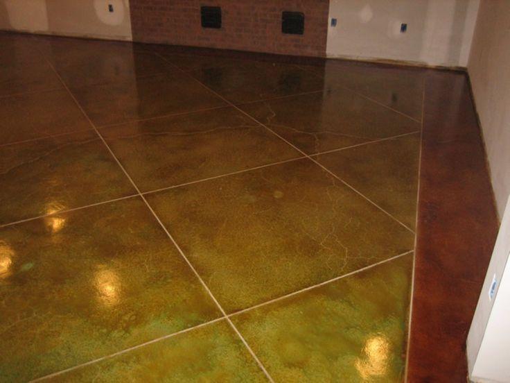26 best Floor images on Pinterest | Painted concrete floors ...