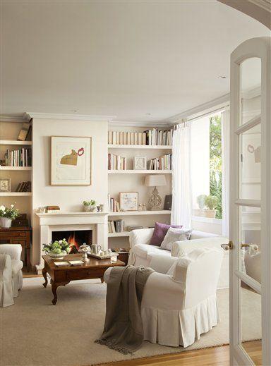 17 mejores ideas sobre chimeneas en pinterest sala de - Decoracion chimeneas salon ...