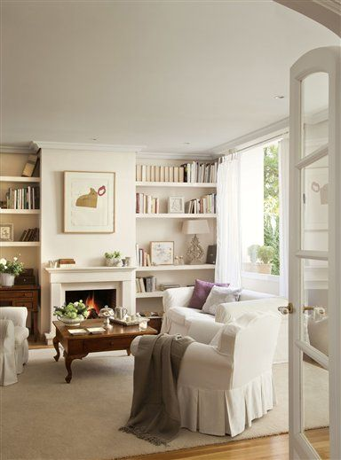 17 mejores ideas sobre chimeneas en pinterest sala de - Salones con chimenea ...
