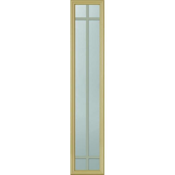 Odl Clear Low E Door Glass 6 Light 5 8 Prairie Internal Grille