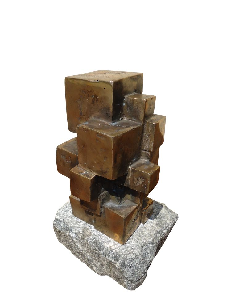 Sculpture available for sale. Name:Compassion, Tehnique: Bronze, Size: 16/11/10 cm, Year: 2012