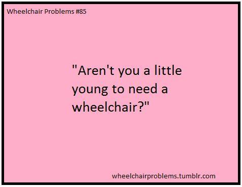 Wheelchair Problems