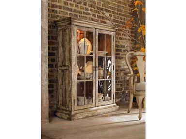 Hooker Furniture 5004-75906 Dining Room Two-Door Display Cabinet - Good's NC Discount Furniture Stores and Furniture Outlets