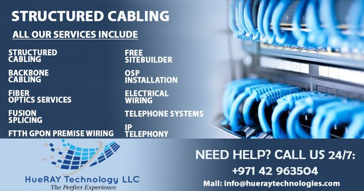 Structured Cabling UAEHUERAY TECHNOLOGY LLC