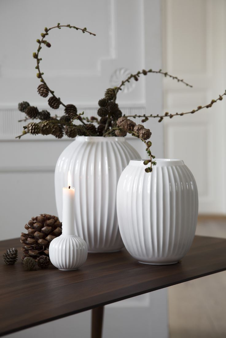 Schöne Herbst- und Winternachrichten von Danish Kähler. Runde, stilvolle Vasen …   – Nachrichten