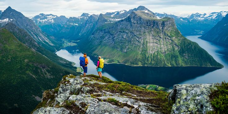 Exploring the mountains and embracing nature and the outdoors is a way of life for most Norwegians. And our most scenic nature is definitely best enjoyed on foot.